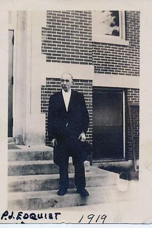 Peter Edquist, MA/Bethlehem first SS teacher